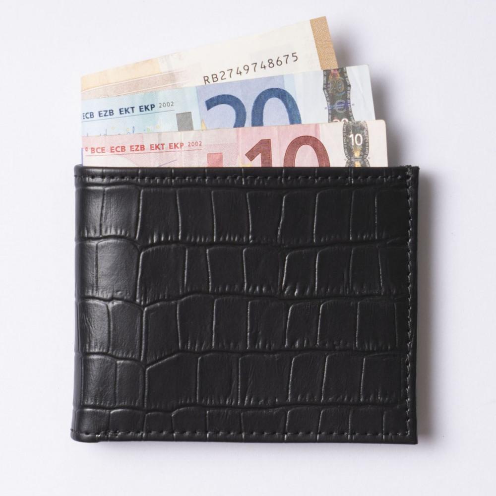 Кожаный кошелёк CROCO