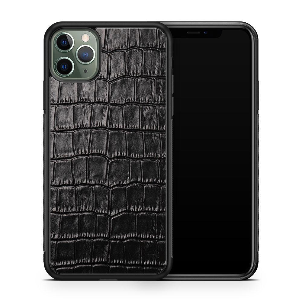Чехол с кожей CROCO для Apple iPhone 11 Pro