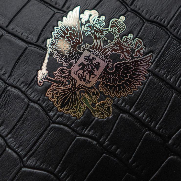 Чехол с кожей Croco RF GOLD для Apple iPhone 12 mini