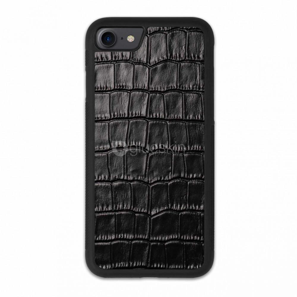 Чехол с кожей CROCO для Apple iPhone 7/8/SE 2020