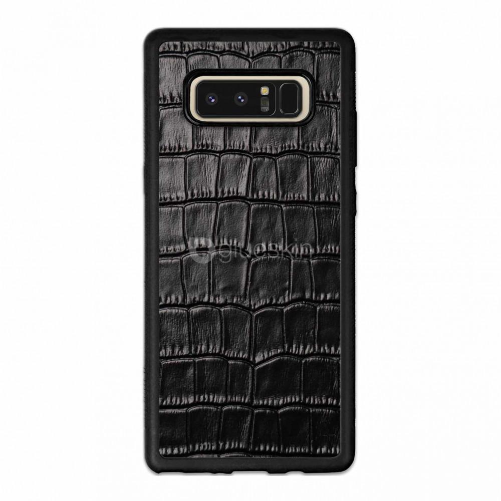 Чехол с кожей CROCO для Samsung Galaxy A40