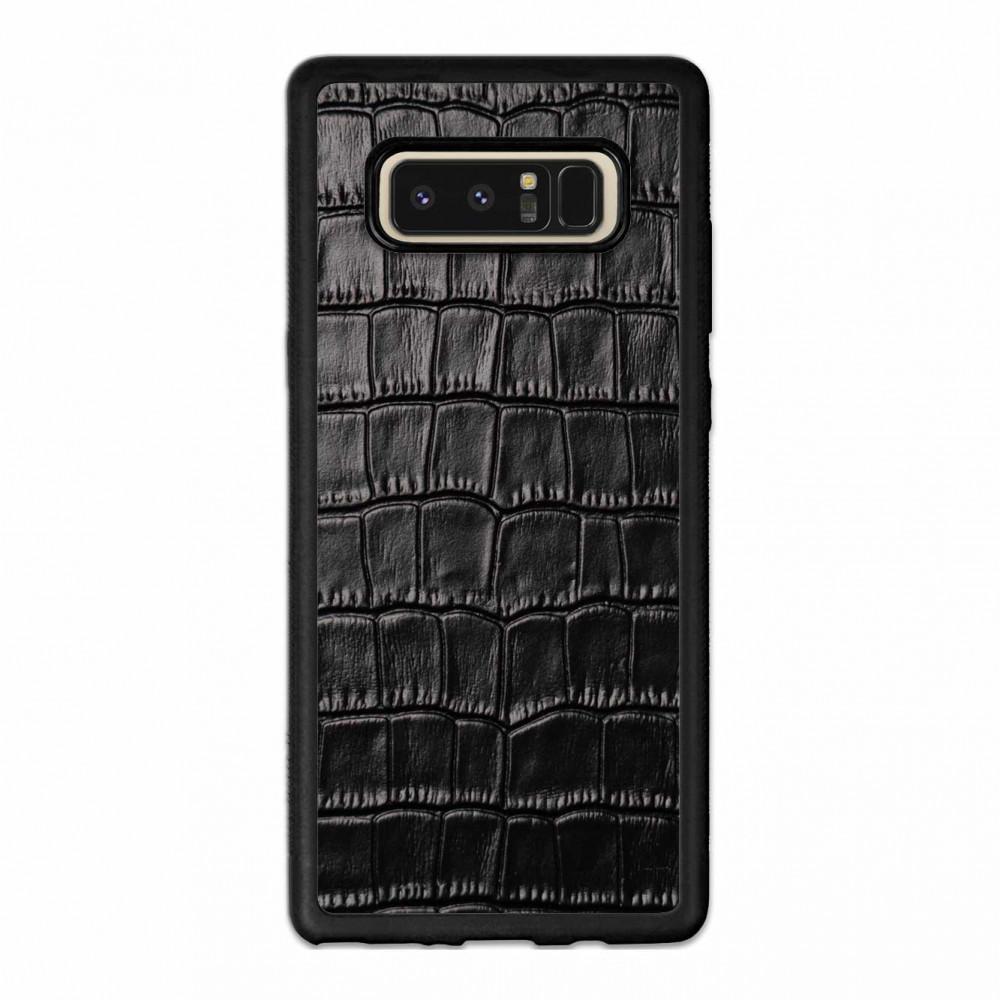 Чехол с кожей CROCO для Samsung Galaxy S7 Edge