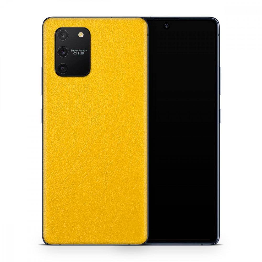 Кожаная наклейка ROOK для Samsung Galaxy S10 Lite