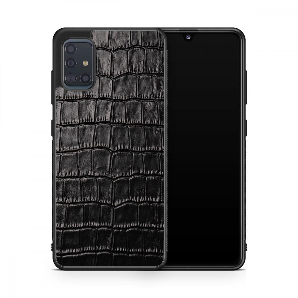 Чехол с кожей CROCO для Samsung Galaxy S20 Plus