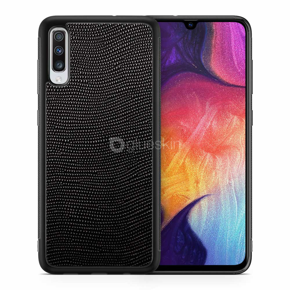Чехол с кожей STINGRAY для Samsung Galaxy A70