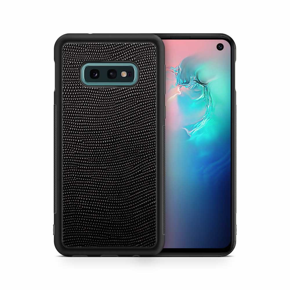Чехол с кожей STINGRAY для Samsung Galaxy S10e