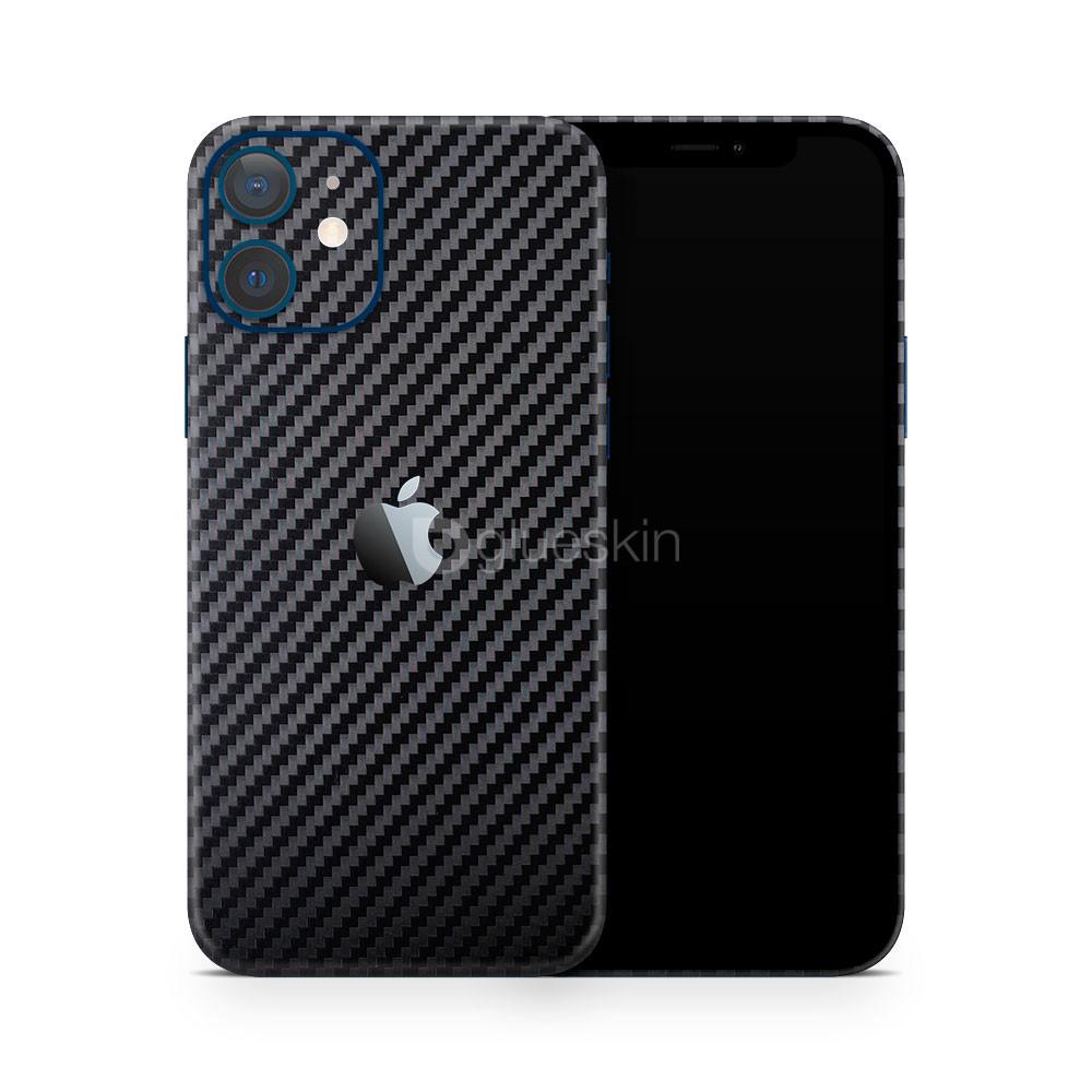 Виниловая наклейка 2D CARBON для Apple iPhone 12