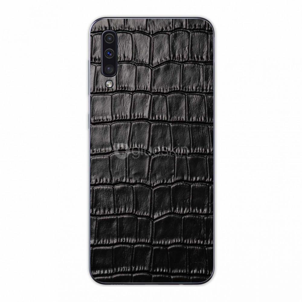 Кожаная наклейка CROCO для Samsung Galaxy A50