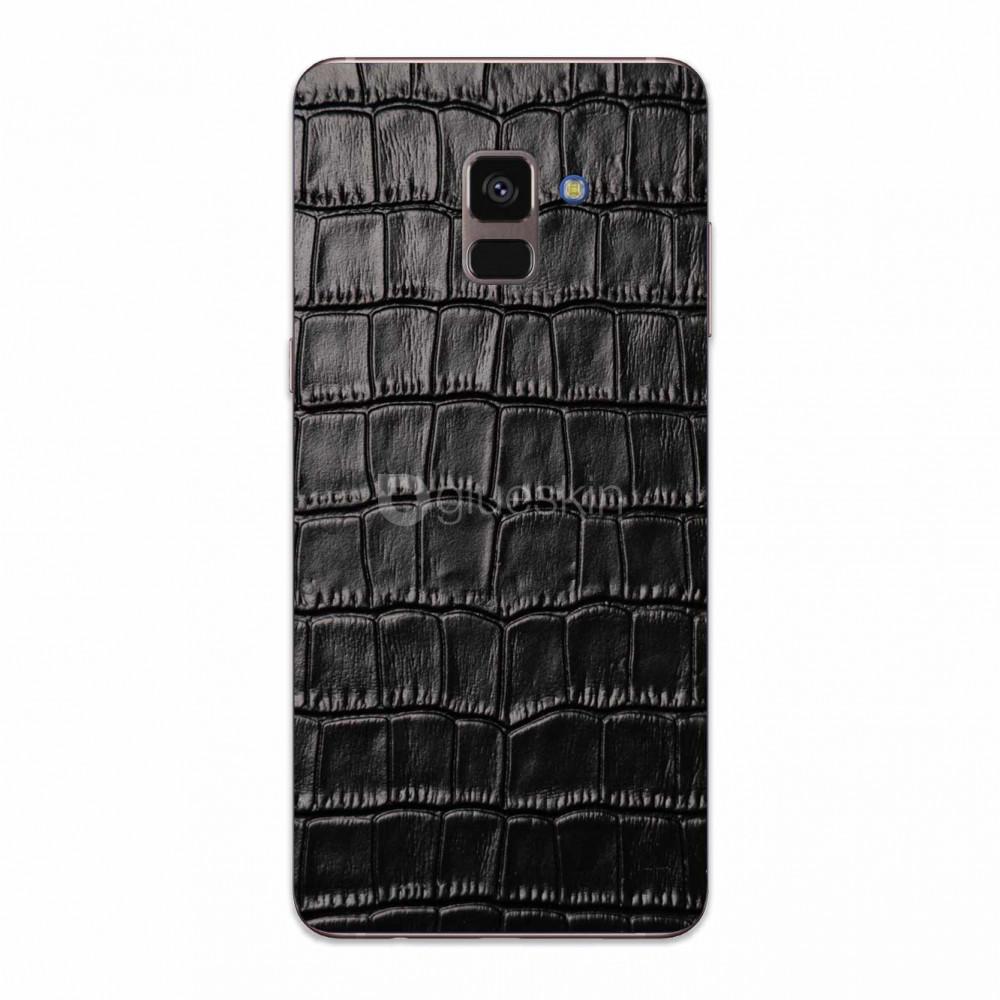 Кожаная наклейка CROCO для Samsung Galaxy A8