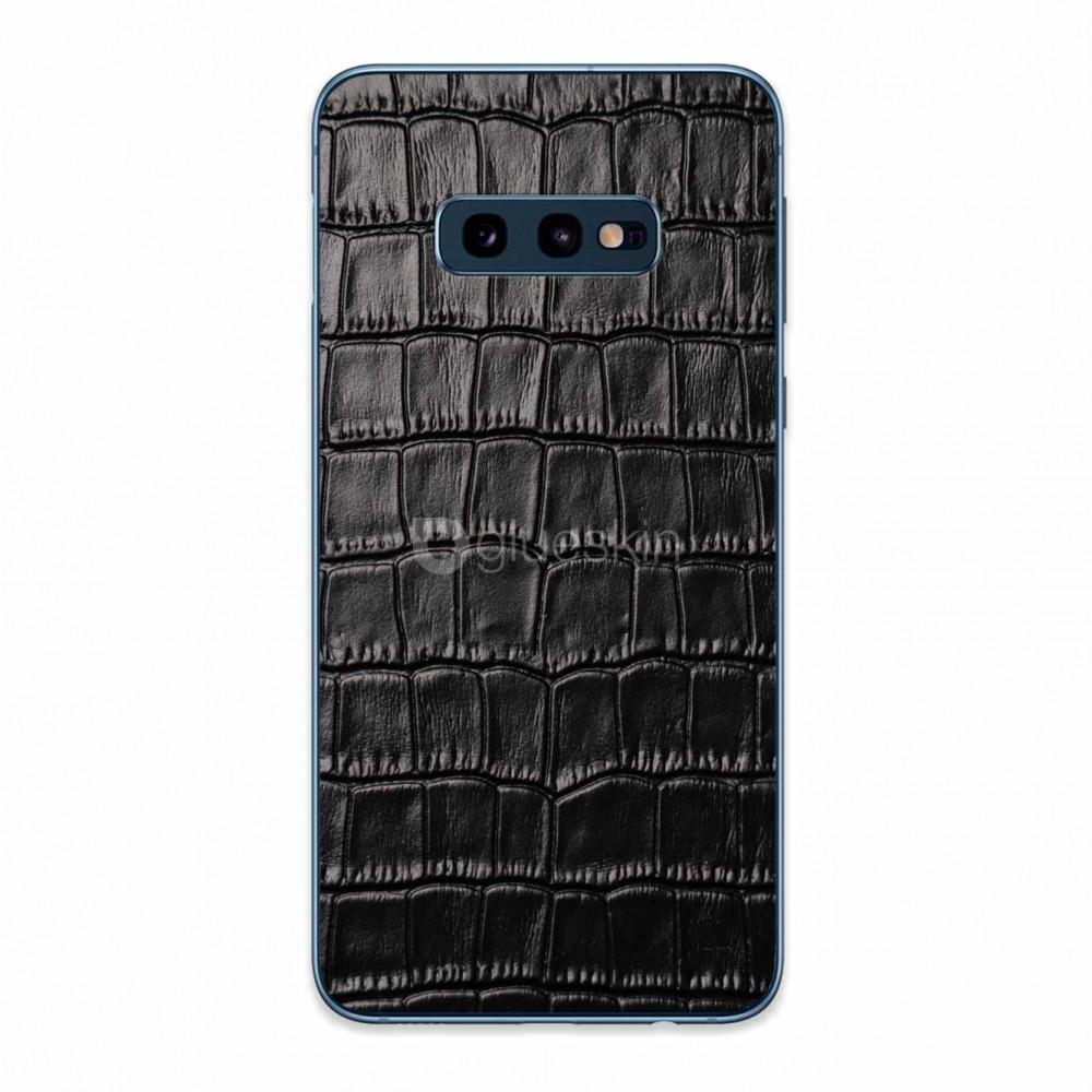 Кожаная наклейка CROCO для Samsung Galaxy S10e