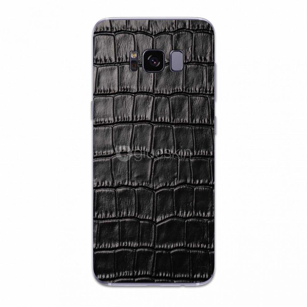 Кожаная наклейка CROCO для Samsung Galaxy S8
