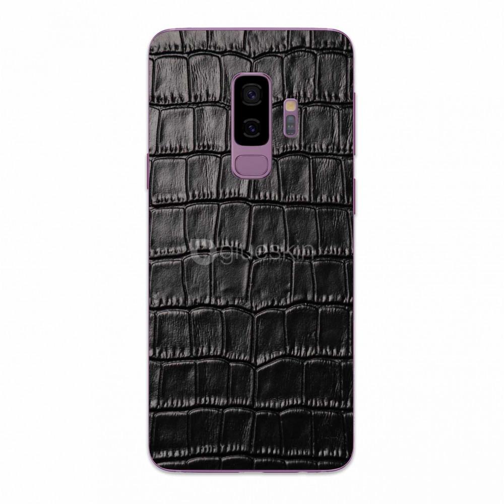 Кожаная наклейка CROCO для Samsung Galaxy S9 Plus