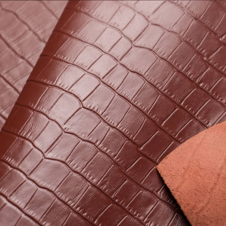 Чехол с кожей CROCO для Samsung Galaxy S9 Plus