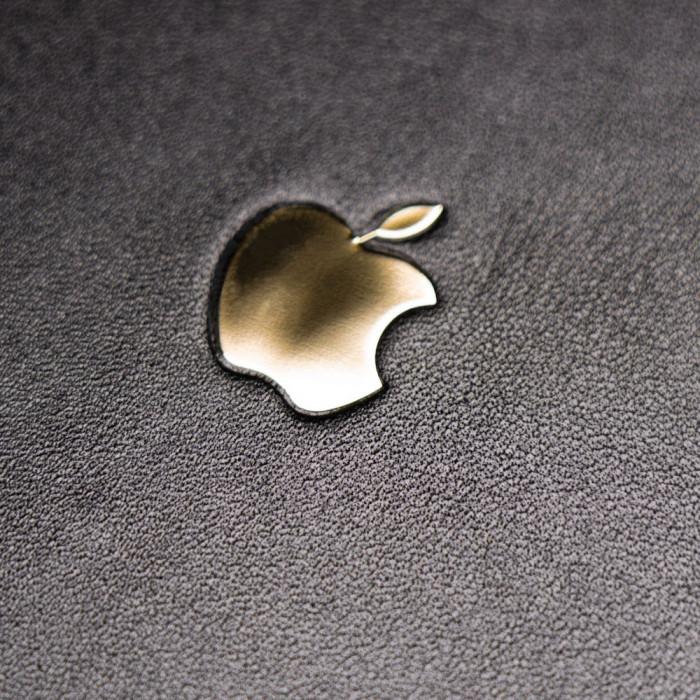 Кожаная наклейка APPLE GOLD для Apple iPhone 11 Pro