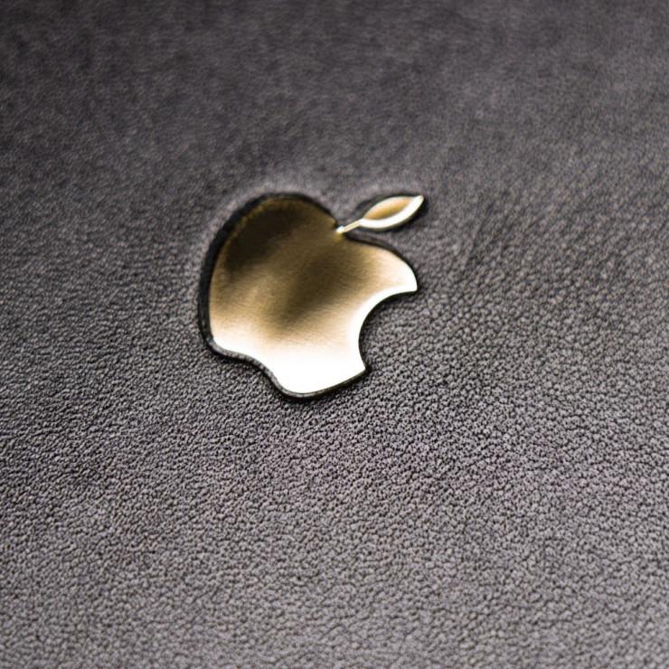 Кожаная наклейка APPLE GOLD для Apple iPhone 11