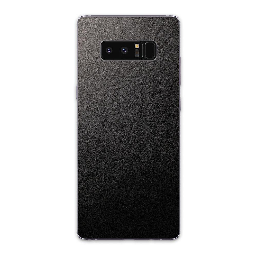 Кожаная наклейка JUST BLACK для Samsung Galaxy Note 8