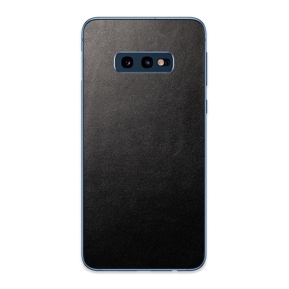 Кожаная наклейка JUST BLACK для Samsung Galaxy S10e