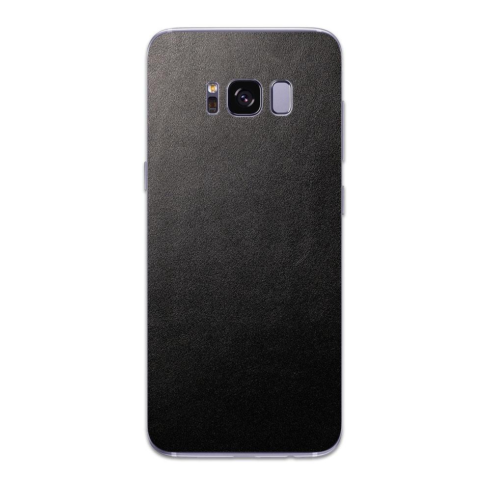 Кожаная наклейка JUST BLACK для Samsung Galaxy S8 Plus