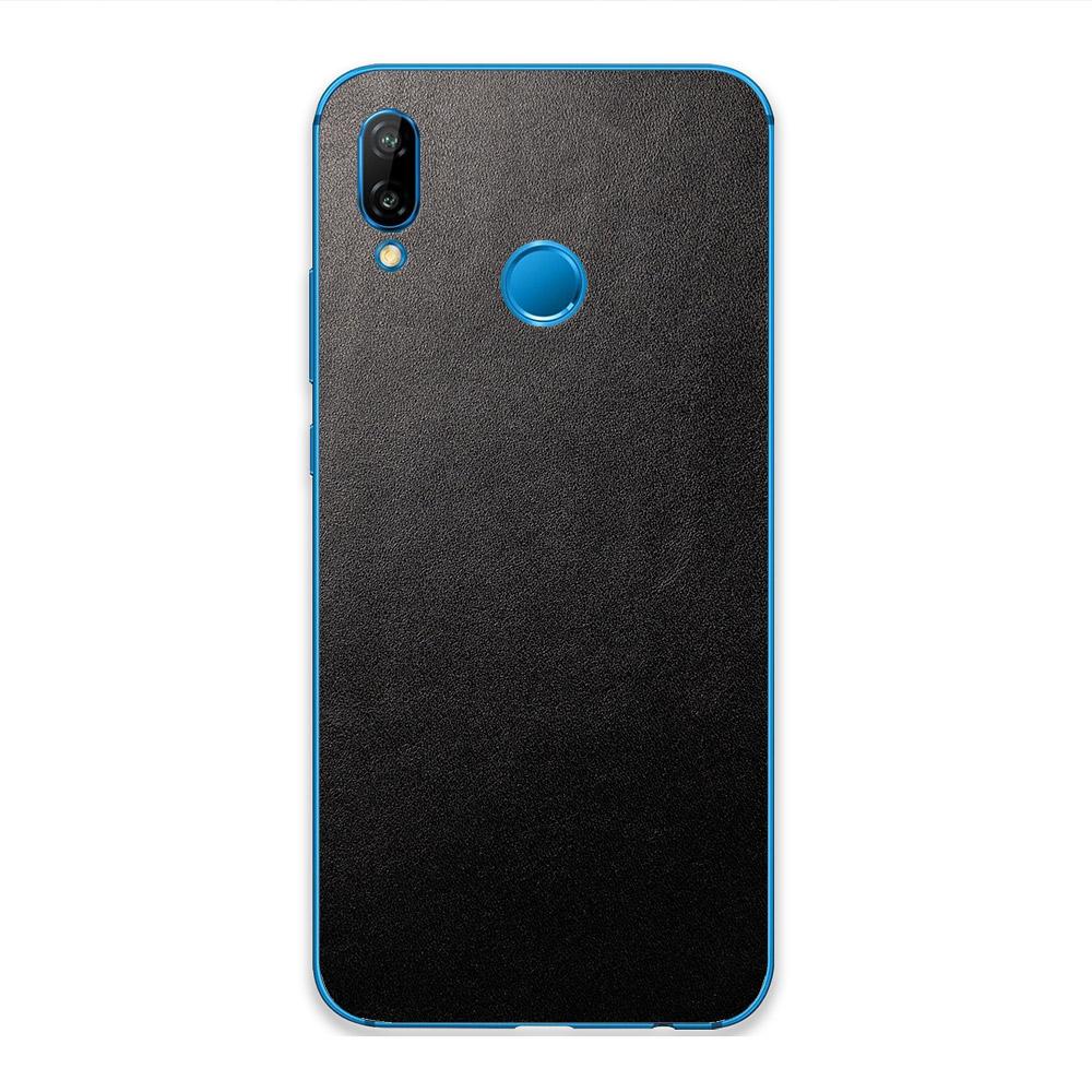 Кожаная наклейка JUST BLACK для Huawei Y9 Prime (2019)