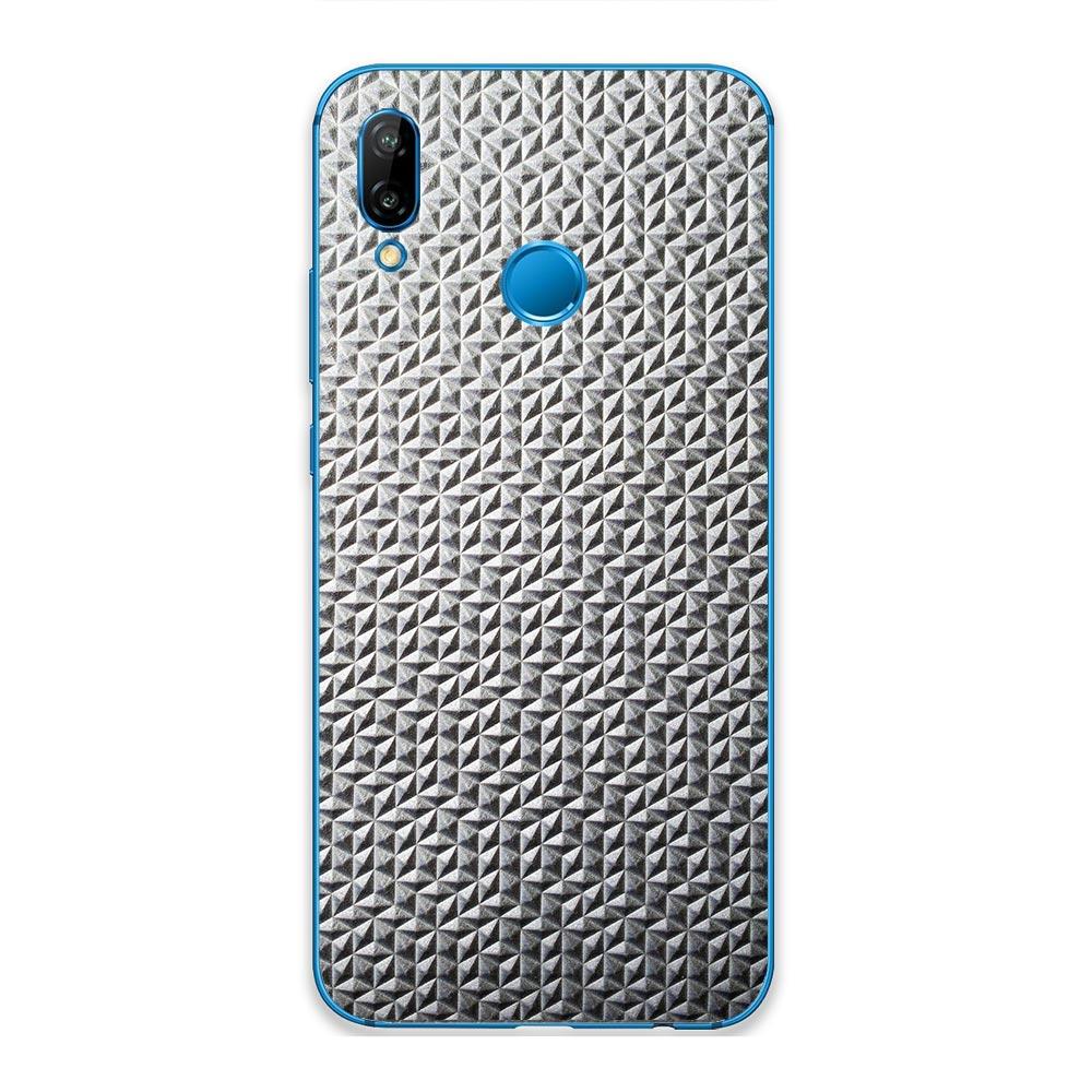 Кожаная наклейка MIELOFON для Huawei P Smart 2019