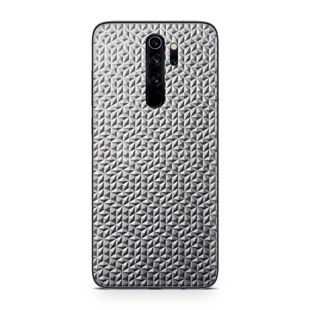Кожаная наклейка MIELOFON для Xiaomi Redmi Note 8 Pro