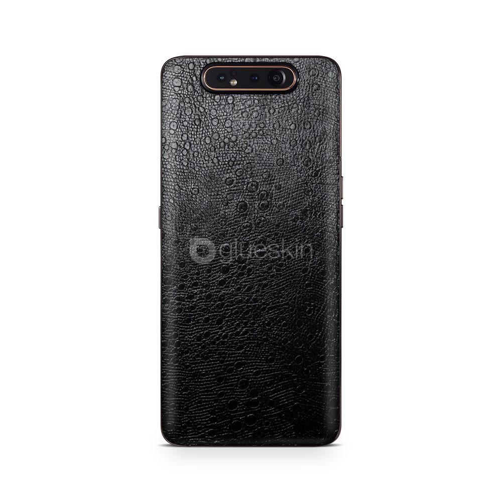 Кожаная наклейка OSTRICH для Samsung Galaxy A80
