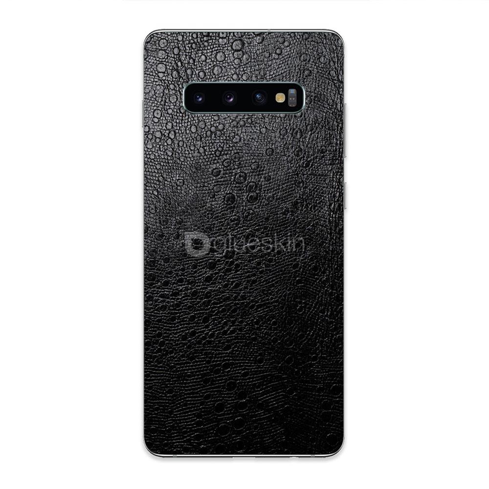 Кожаная наклейка OSTRICH для Samsung Galaxy S10