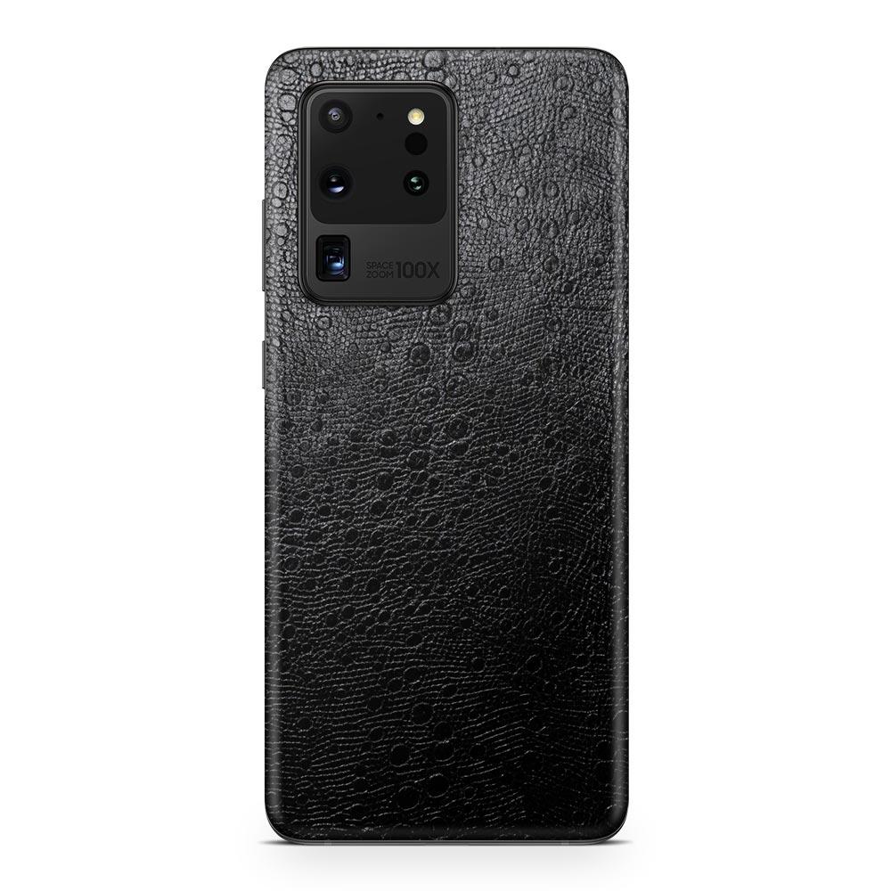 Кожаная наклейка OSTRICH для Samsung Galaxy S20 Ultra