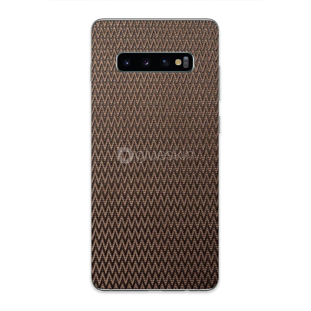 Кожаная наклейка PULSE для Samsung Galaxy S10