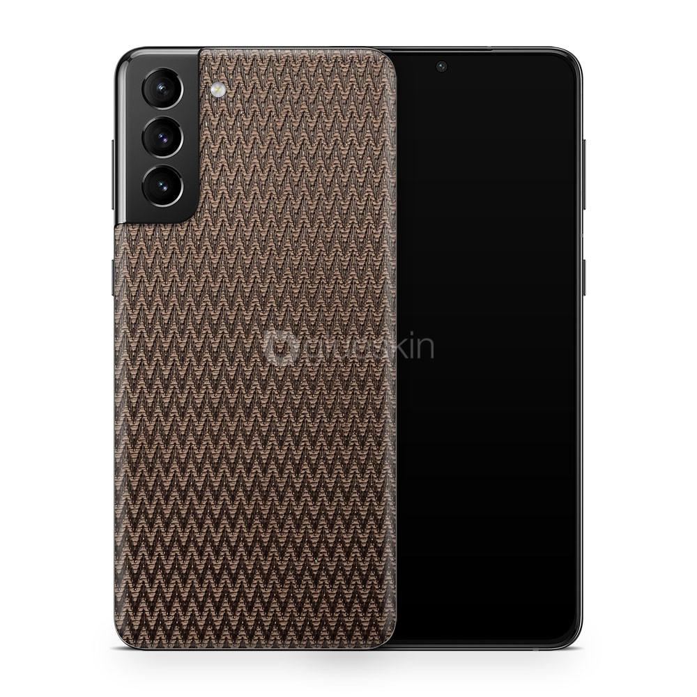 Кожаная наклейка PULSE для Samsung Galaxy S21 Plus