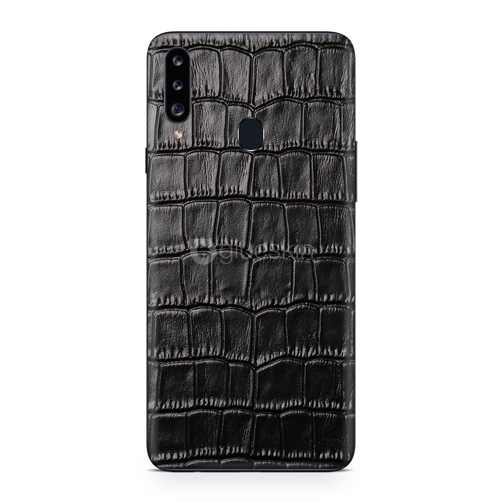 Кожаная наклейка CROCO для Samsung Galaxy A30s