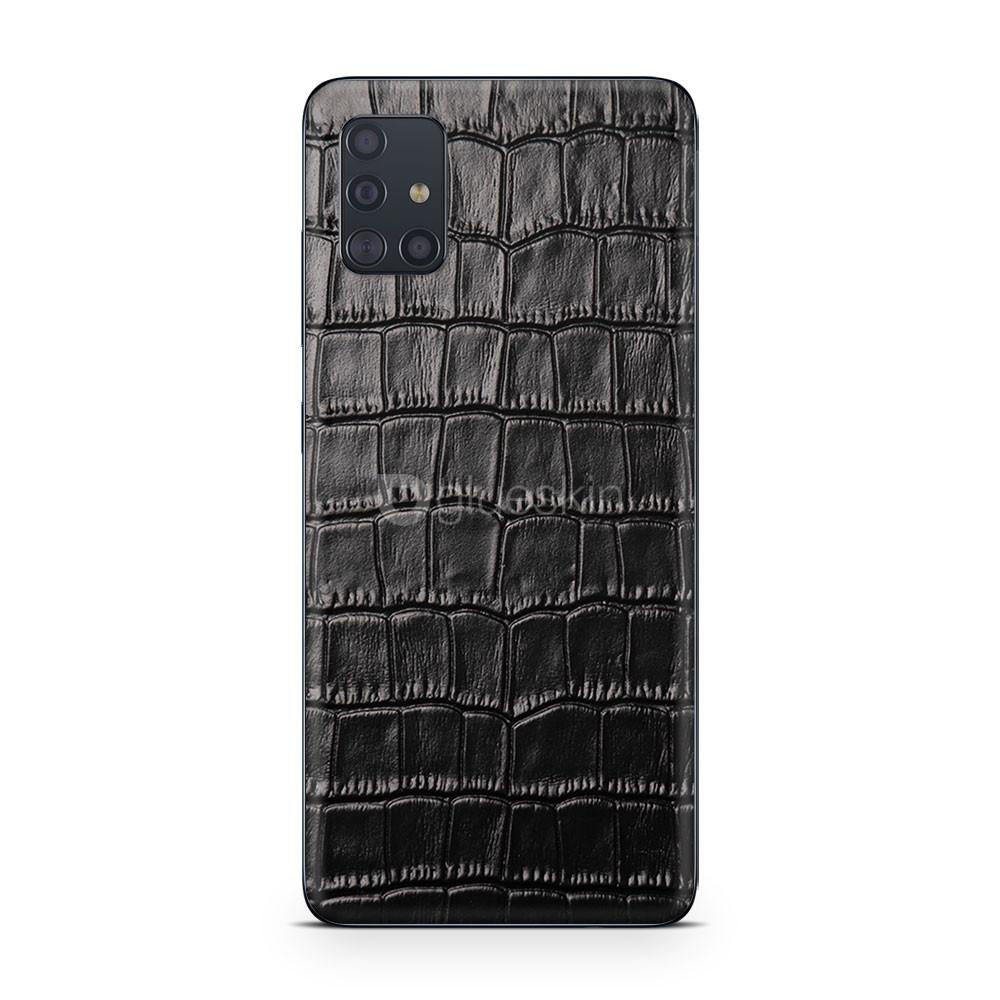 Кожаная наклейка CROCO для Samsung Galaxy M51