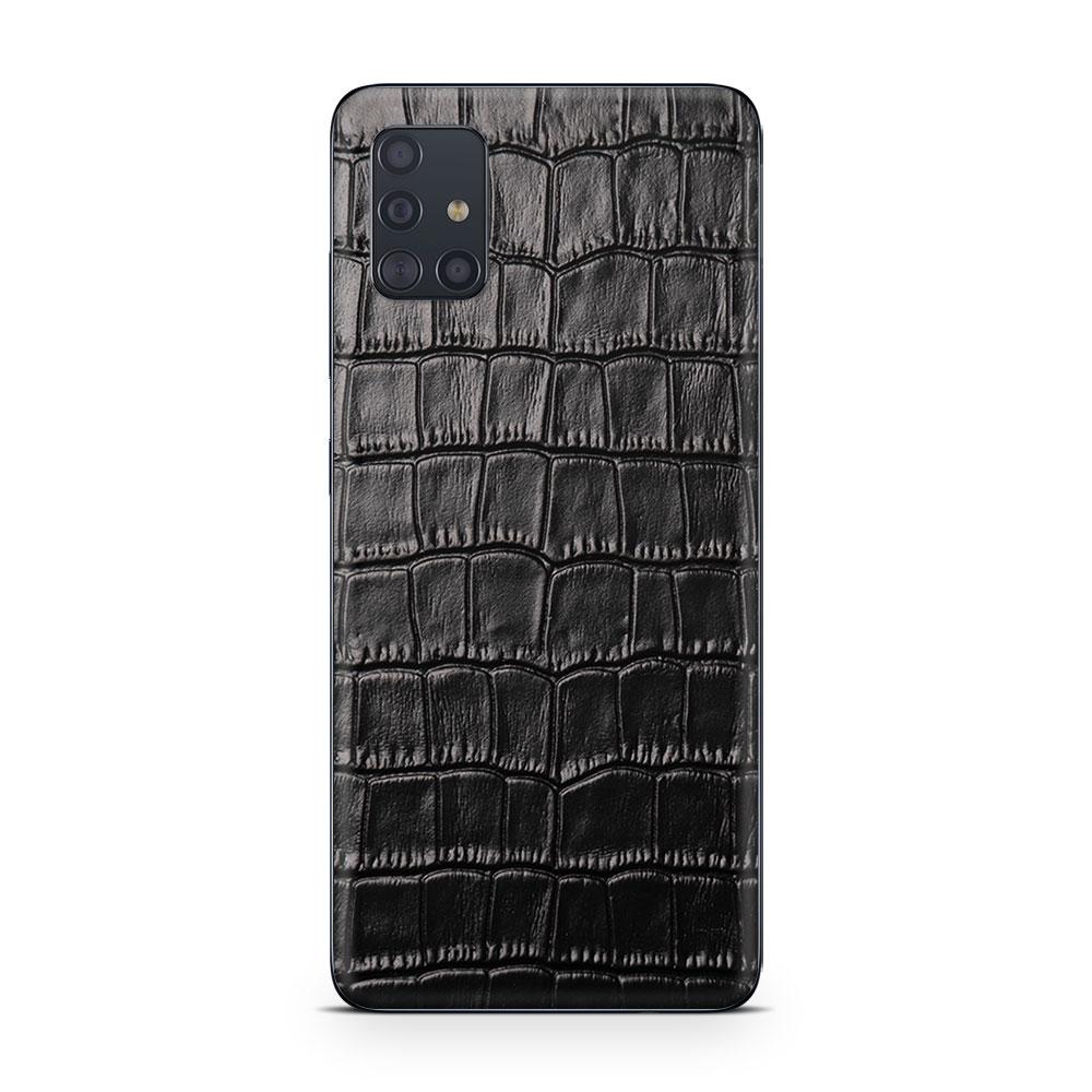 Кожаная наклейка CROCO для Samsung Galaxy A51