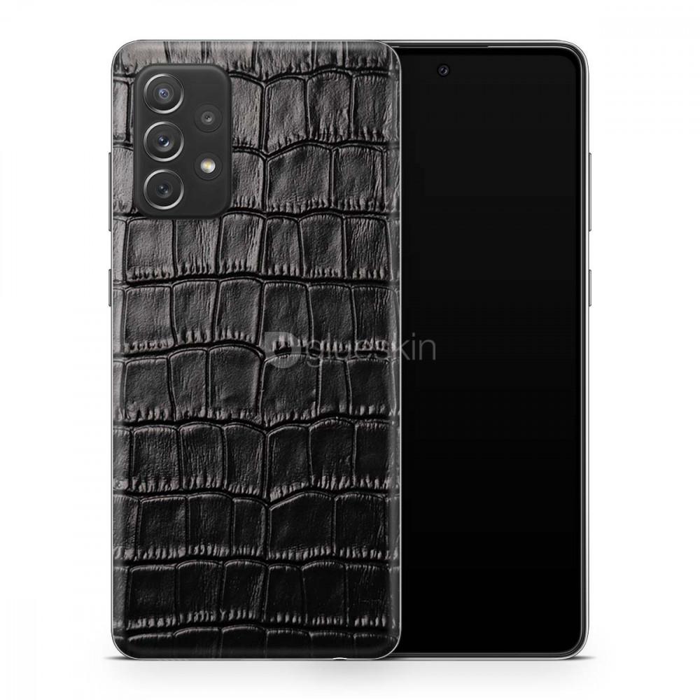 Кожаная наклейка CROCO для Samsung Galaxy A52