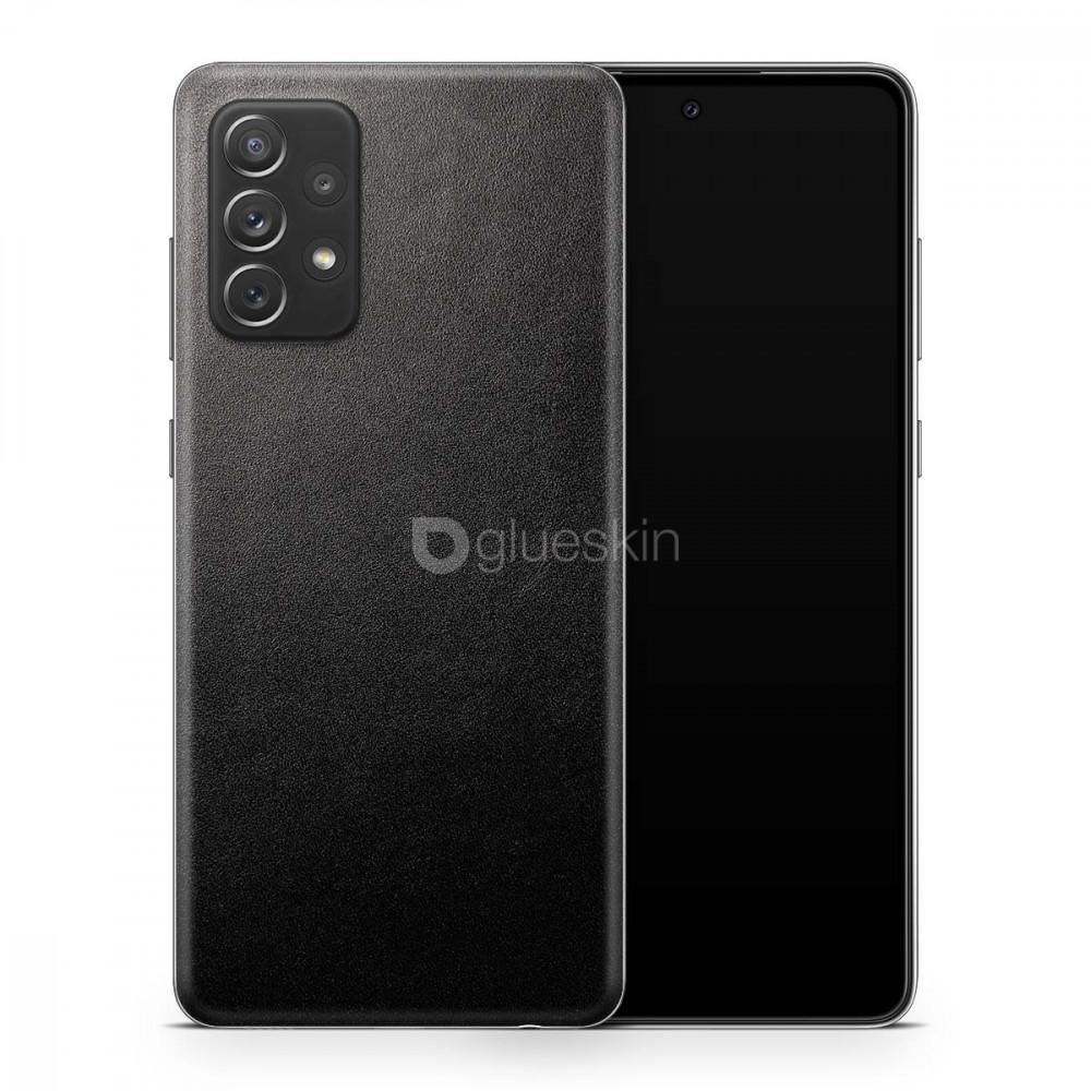Кожаная наклейка JUST BLACK для Samsung Galaxy A52