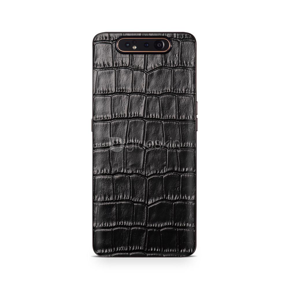 Кожаная наклейка CROCO для Samsung Galaxy A80