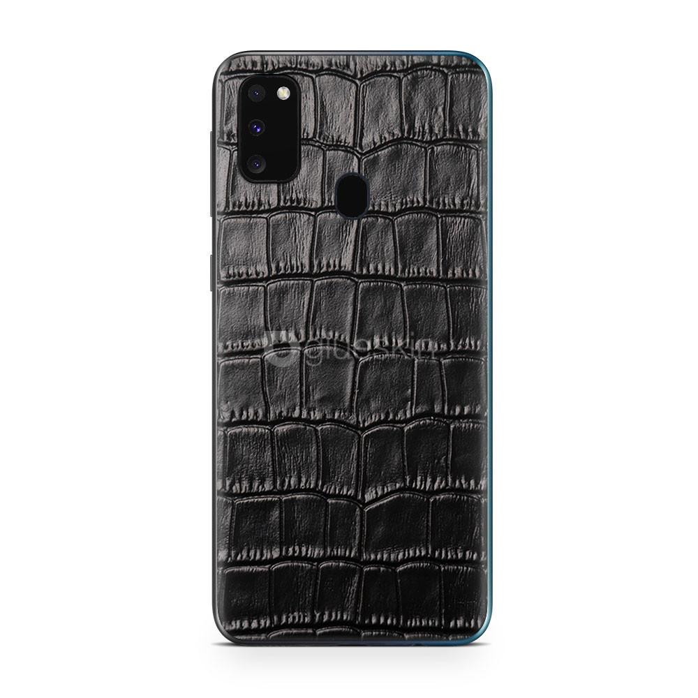 Кожаная наклейка CROCO для Samsung Galaxy M30s