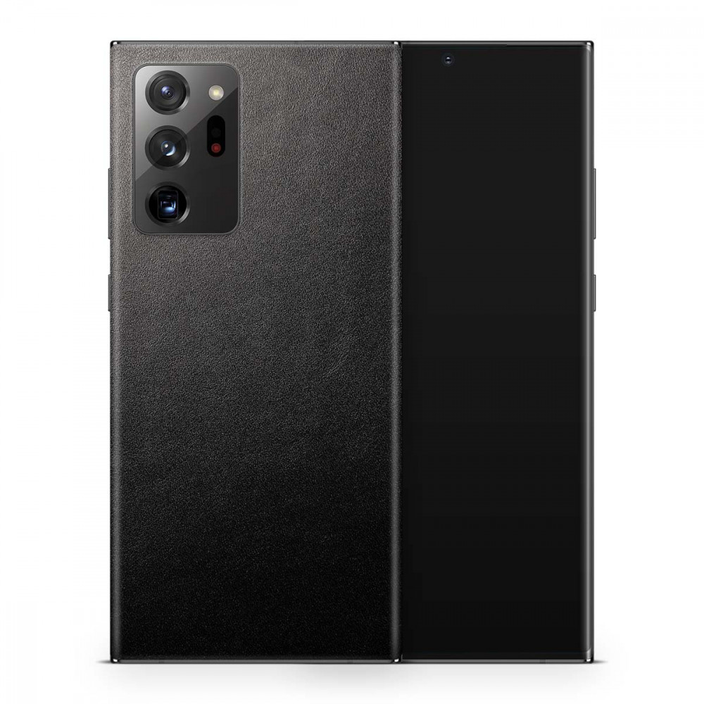 Кожаная наклейка JUST BLACK для Samsung Galaxy Note 20 Ultra