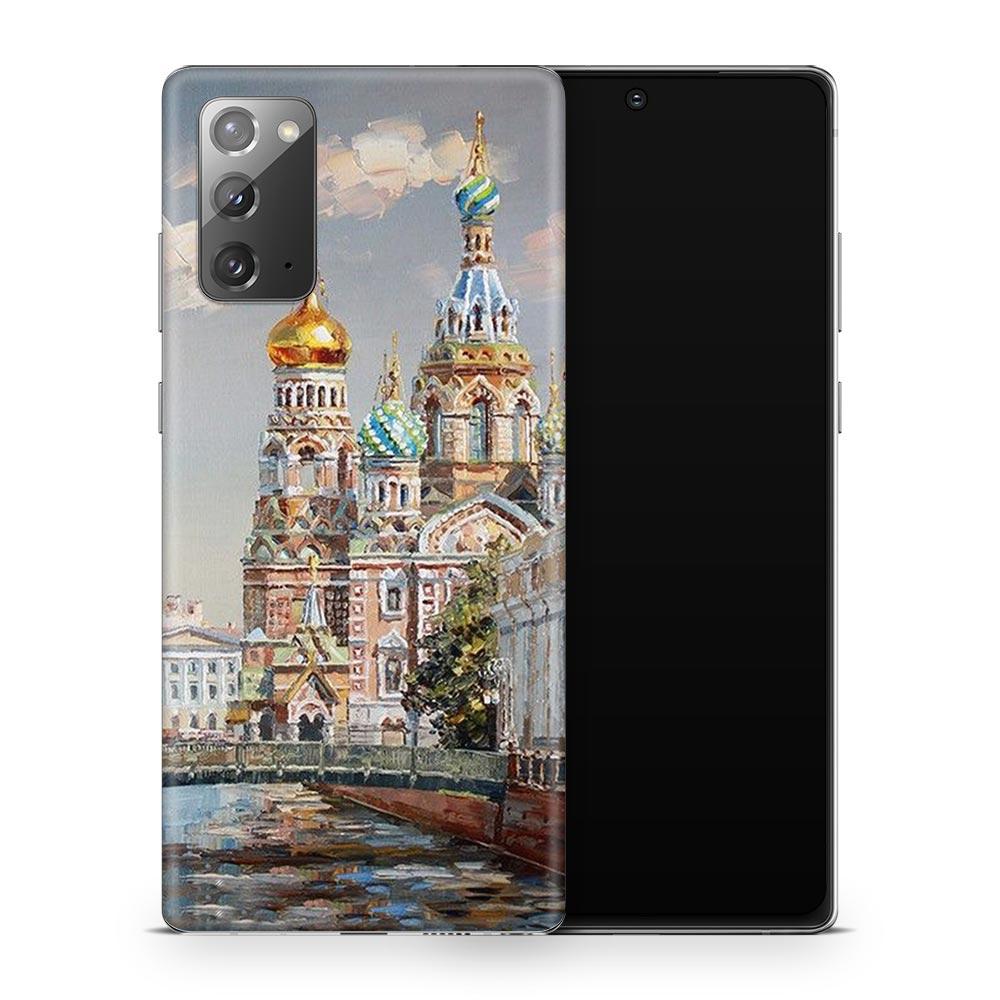 Кожаная наклейка СПАС для Samsung Galaxy Note 20