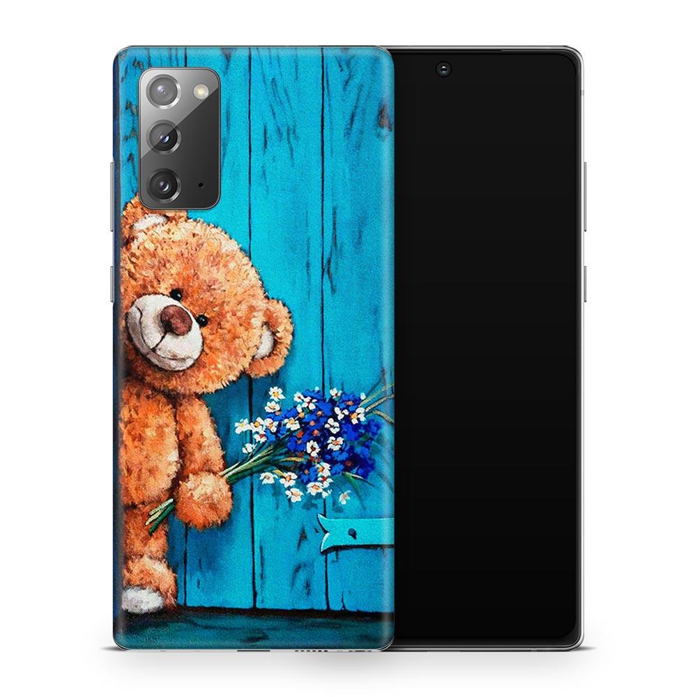 Кожаная наклейка ТЕДДИ для Samsung Galaxy Note 20