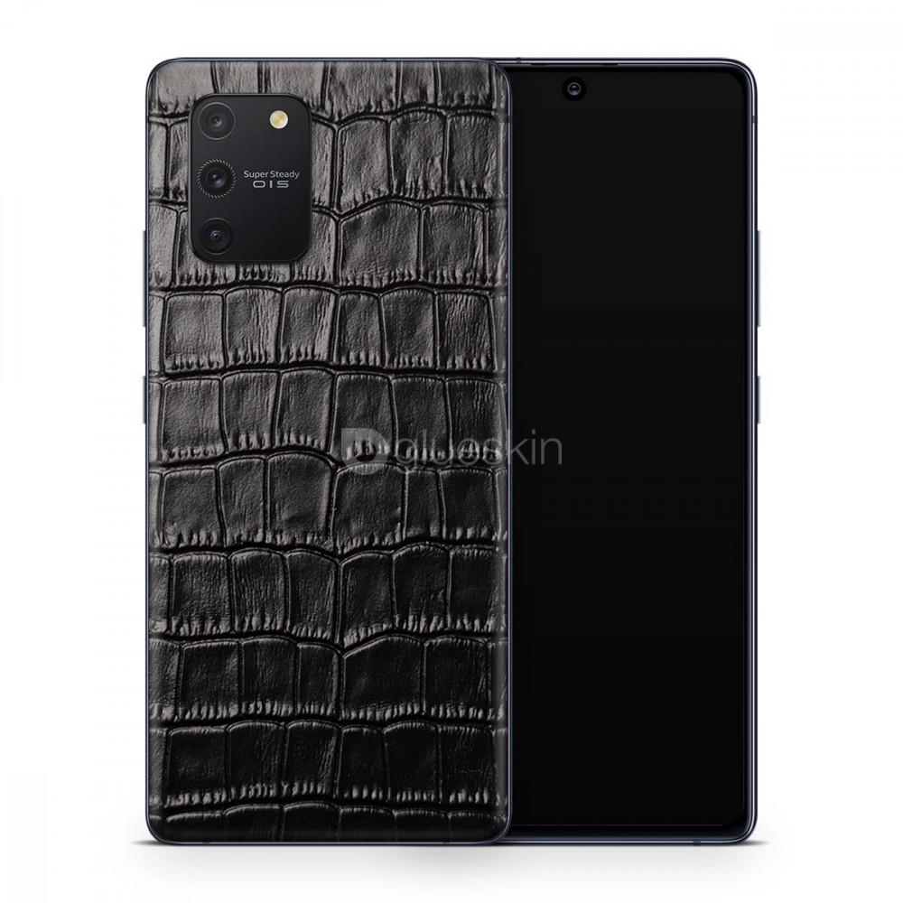 Кожаная наклейка CROCO для Samsung Galaxy S10 Lite