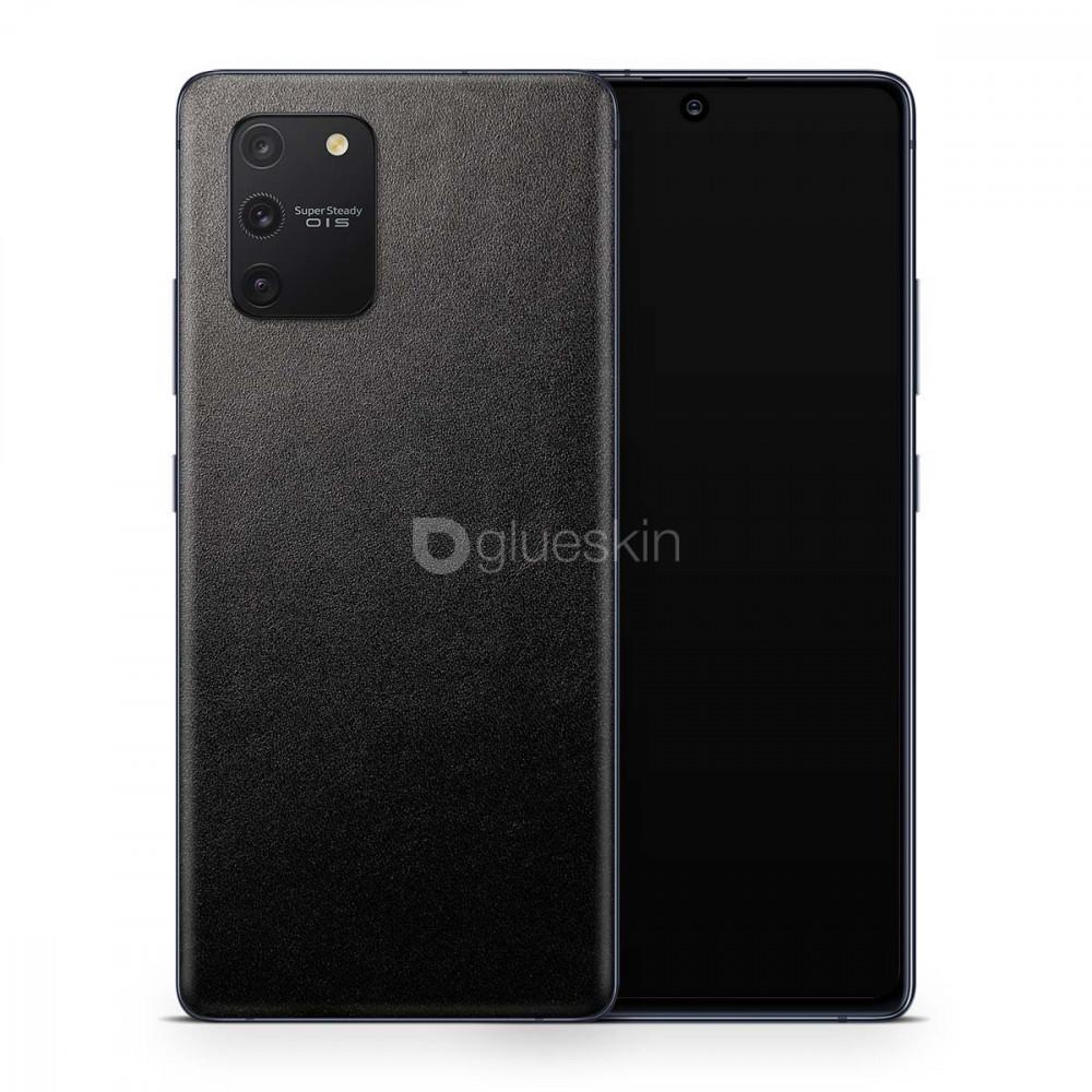 Кожаная наклейка JUST BLACK для Samsung Galaxy S10 Lite