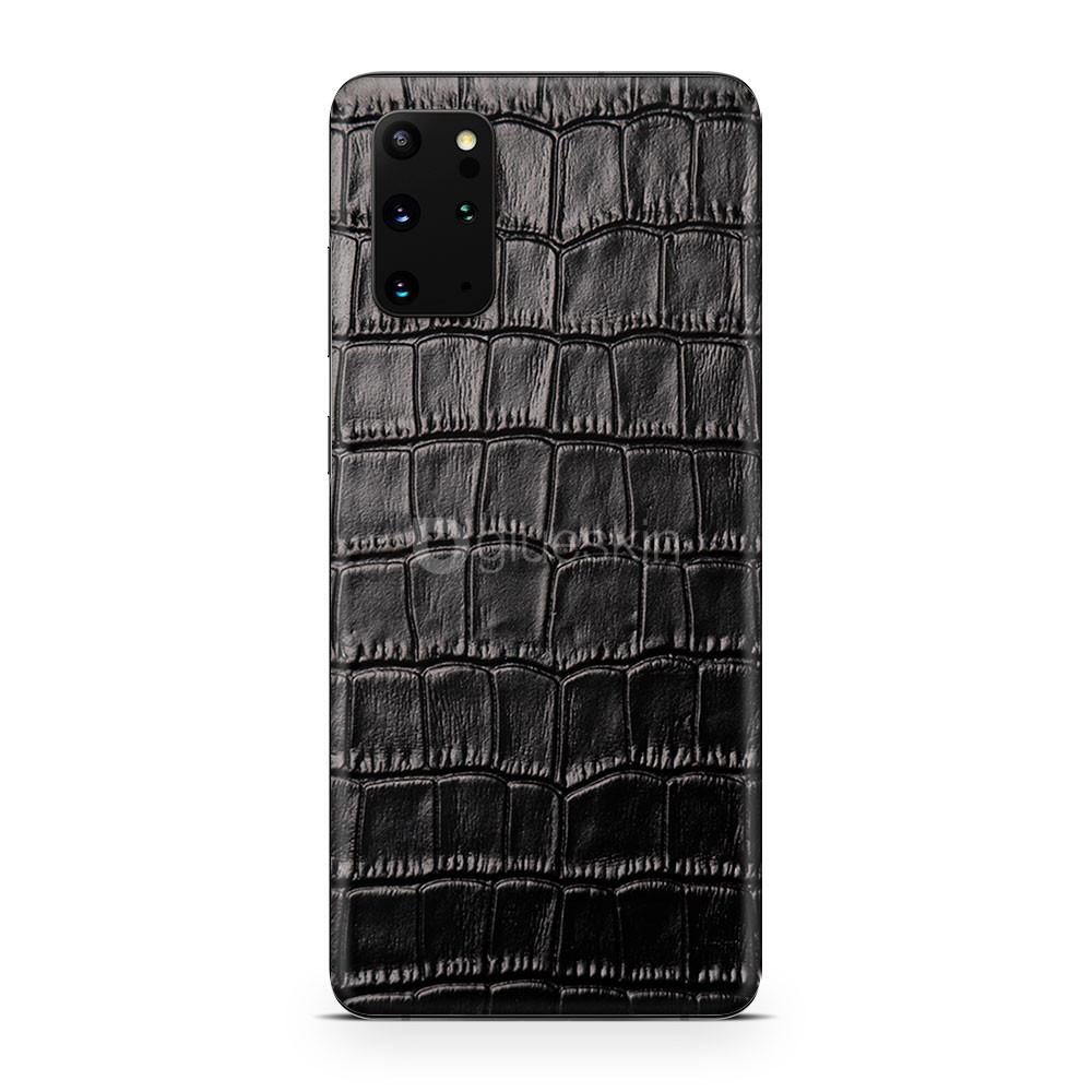 Кожаная наклейка CROCO для Samsung Galaxy S20 Plus