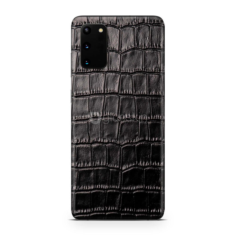 Кожаная наклейка CROCO для Samsung Galaxy S20 FE