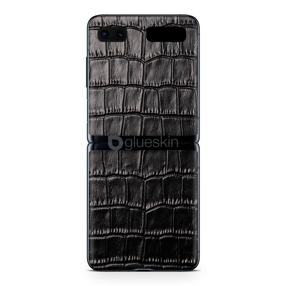 Кожаная наклейка CROCO для Samsung Galaxy Z Flip