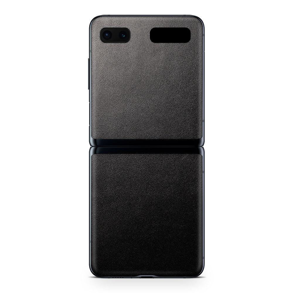 Кожаная наклейка JUST BLACK для Samsung Galaxy Z Flip