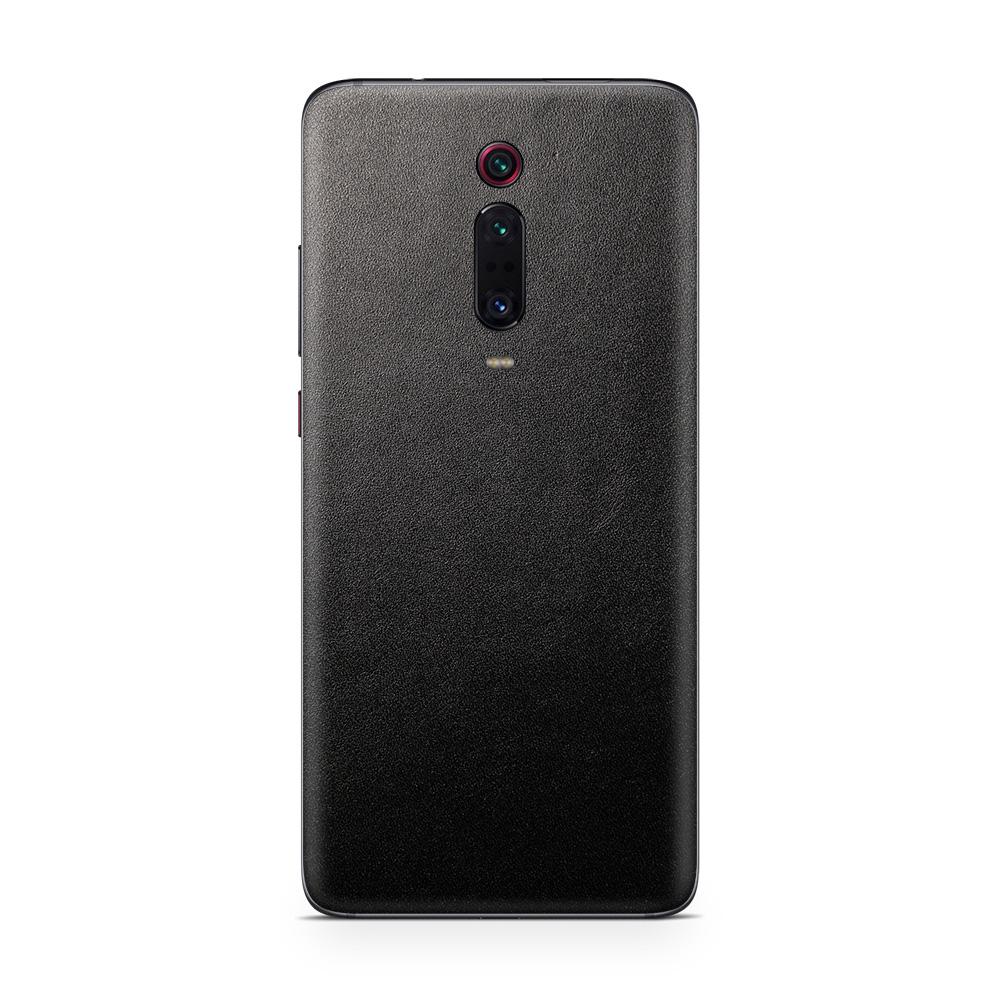 Кожаная наклейка JUST BLACK для Xiaomi Redmi Note 8 Pro